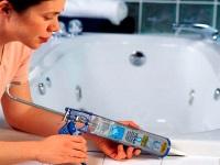 Герметики для ванной