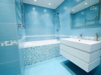 Голубая ванная – окунитесь в небо