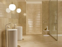 Бежевая ванная – тепло и уют вашего дома