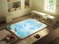 Ванна большого размера – для абсолютного комфорта