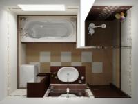 Дизайн ванной комнаты площадью 4 кв. м. Решаем задачу с легкостью!
