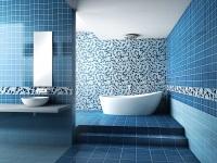 Синяя ванная комната – море в вашей квартире
