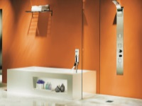 Оранжевая ванная комната – апельсиновое настроение
