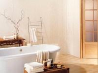 Оформление ванной комнаты стеновыми панелями
