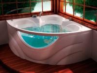 акриловая ванна в интерьер