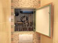 Как закрыть трубы в ванной – самые простые и эффективные способы маскировки