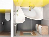 Пример перепланировки ванной