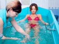 Подводный душ – приятная и полезная процедура!