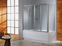 Раздвижные шторки для ванны – современная и стильная защита от брызг