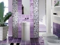 Сиреневая ванная комната – непревзойденный уют и романтичность
