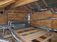 Вентиляция в деревянном доме. Особенности вентиляции в ванной комнате
