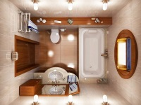 Интерьер и дизайн ванной комнаты в хрущевке