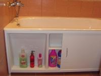 Раздвижной экран для ванны – практичное решение