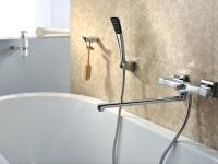Смесители для ванны и душа с длинным изливом