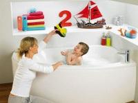 Идеи для ванной комнаты, которые понравятся детям