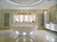 Влагозащищенные точечные светильники для ванной комнаты