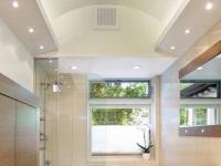Встроенные светильники для потолка ванной комнаты