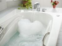Сколько литров воды в ванне?