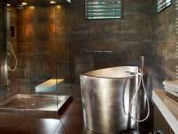 Ванна из нержавеющей стали для ванной комнаты
