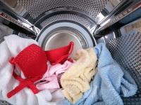 Как вытащить косточку от бюстгальтера из стиральной машины?