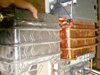 Теплообменник для газовой колонки - радиатор