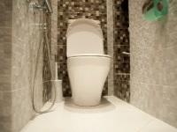 Tile toilet decoratie foto ontwerp
