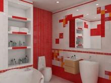 Вариант организации пространства в ванной комнате