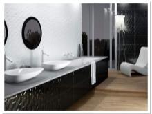 Черно-белая коллекция 3D плитки