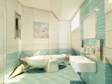 Элементы морского декора для ванной