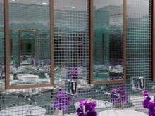 Зеркальная мозаика для ванной с зеркалом