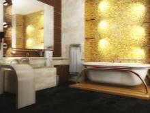 Золото в ванной