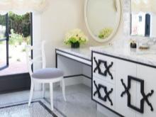 Мебель для ванной в стиле арт-деко