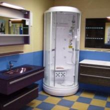 Гидробокс для маленькой ванной комнаты