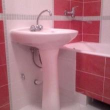 раковина-тюльпан в ванной