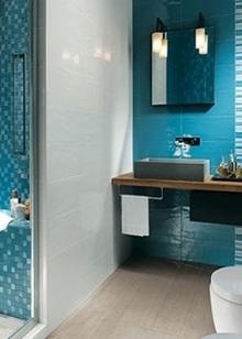 Морской стиль ванной