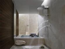 Душевая система в ванной комнате