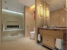Зонирование  ванной и душа - перегородки в ванной