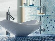 Мозайка в маленькой ванной