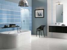 Керамическая плитка в дизайне ванной