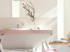 Врезной смеситель в ванной