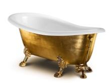 большая чугунная ванна