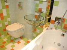 Декор маленькой ванной комнаты