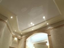 Зеркальные натяжные потолки для ванной комнаты