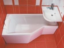 Ванная в маленьком пространстве