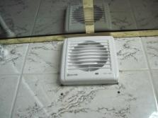 вентилятор на стене