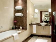 Зонирование цветом ванной комнаты