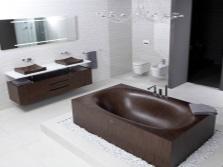 Сочетание ванной с интерьером