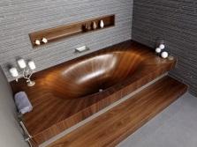 Ванна с подиумом