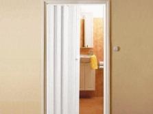 Дверь-гармошка для ванной комнаты