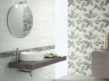 Зонирование - разные стены в ванной